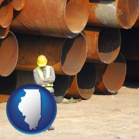illinois a municipal engineer with iron sewer pipes